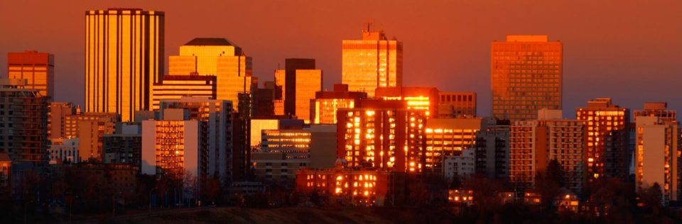 Edmonton skyline, Office Move Pro, office movers Edmonton home page