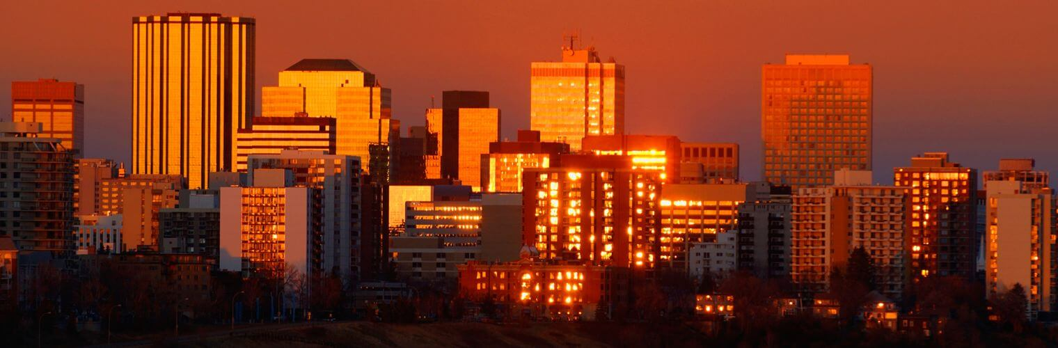 Edmonton skyline, Office Move Pro, office movers Edmonton home page