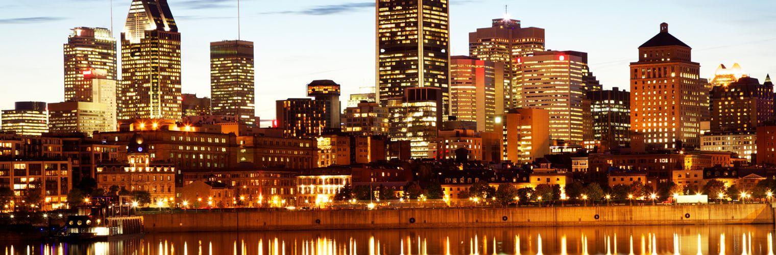 Montreal Canada skyline