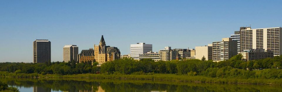 Saskatoon skyline, Office Move Pro, office Saskatoon movers home page