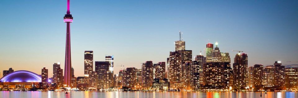 Toronto skyline, Office Move Pro, office movers Toronto home page