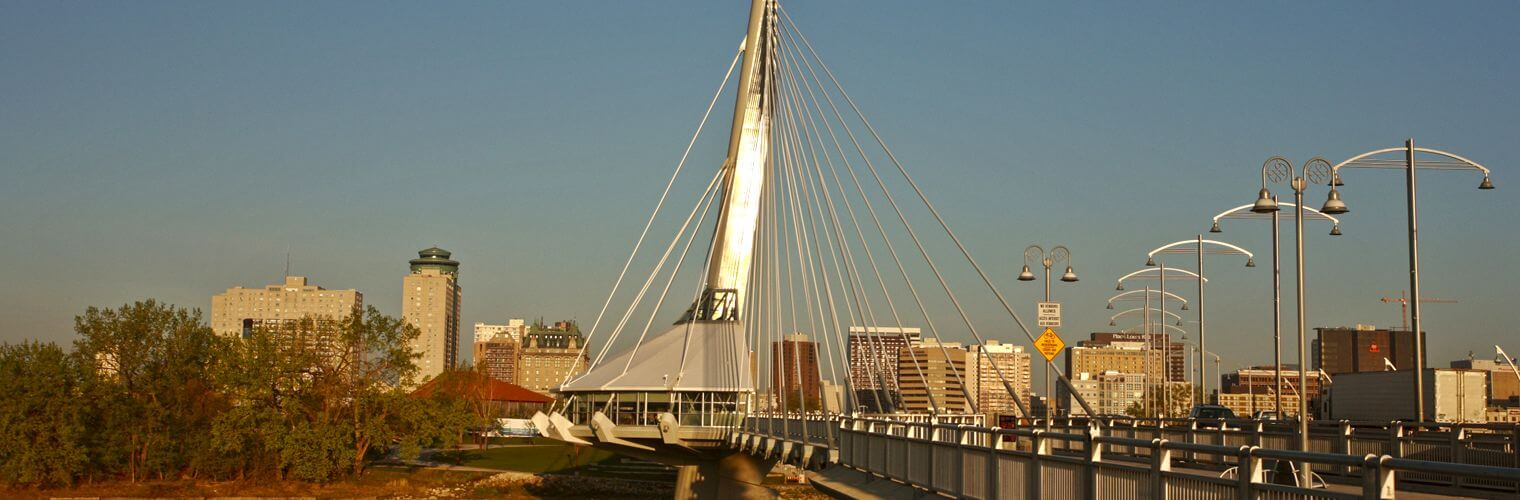 Provencher Bridge Winnipeg Canada