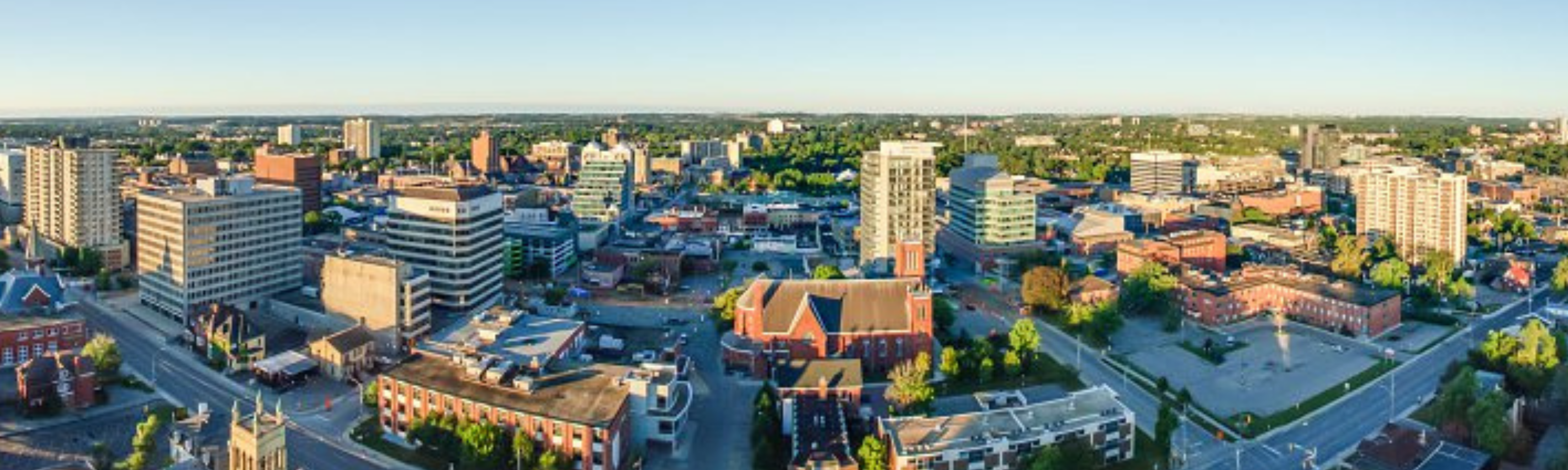 Kitchener-Waterloo Canada skyline