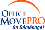 office move pro logo and tagline
